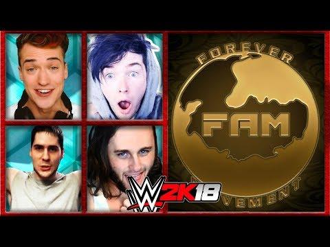 PopularMMOs & The Minecraft Mafia vs. Forever a Movement | WWE 2K18