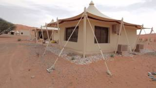 Drive into the Luxurious Desert Nights Camp (Sharqiyah Sands, Oman)