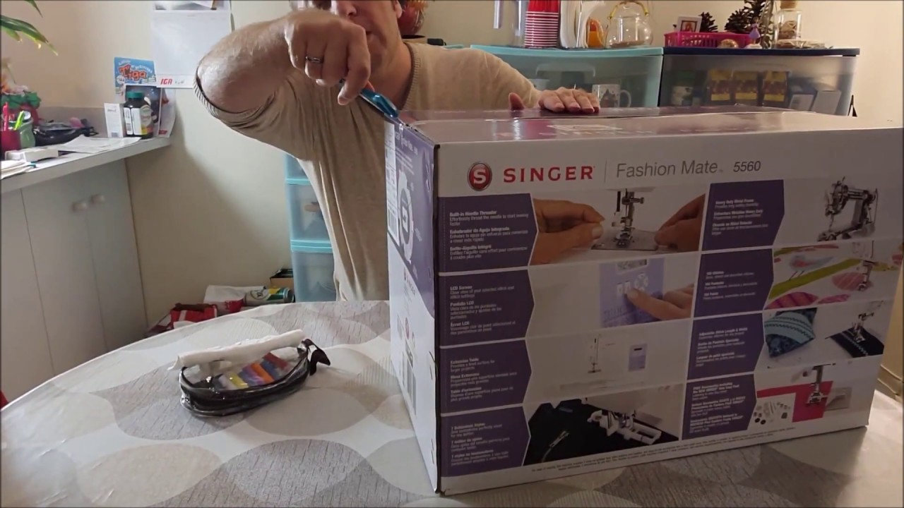 Download Unboxing Singer Fashion Mate 5560