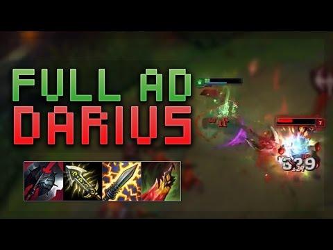 HOW BROKEN IS FULL AD DARIUS? - Troll Builds That Work #5! (League Of Legends)