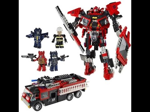 Lego Transformers Toys For Kids - YouTube