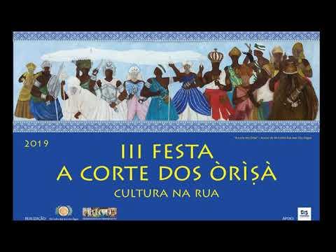 "III Festa ""A Corte dos Òrìṣà"" - Oficina de Samba-Dança"