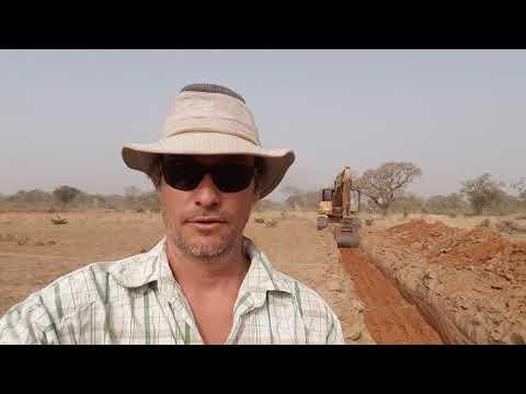 Update on the perma culture training center Burkina-Faso