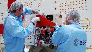 Зонды для изучения Меркурия перевозят на космодром Куру