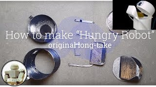 [How to make] Hungry Robot (Eat everything) long take without edit
