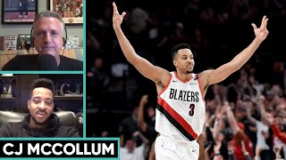CJ McCollum on LeBron's Greatness, NBA Media, and Playing in the Bubble   The Bill Simmons Podcast