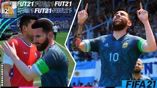 FIFA 21 | Argentina vs Chile - Estadio Presidente Perón (el Cilindro)