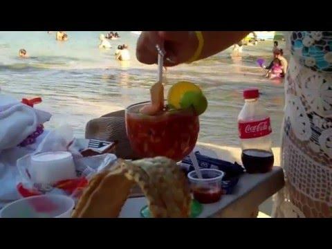 A Day at Rock Island Beach - Acapulco Mexico