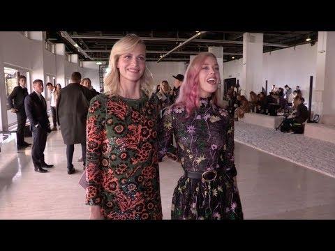 Zara Larsson, Poppy Delevingne and more front row for the Giambattista Valli Fashion Show