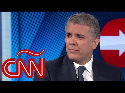 """Iván Duque: """"El único cáncer que tiene Venezuela se llama la dictadura"""""""