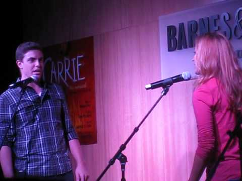"""You Shine"" Derek Klena & Christy Altomare CARRIE CD RELEASE PERFORMANCE"