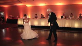Surprise Father Daughter Dance - Choreographed Bride and Father Dance