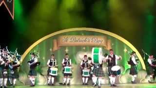 Disneyland Paris - Pipe Band Aubigny Auld Alliance of Aubigny sur Nere - St. Patrick