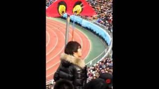 天皇杯決勝 FC東京vs京都 試合前 ゆってぃ 土屋礼央 ジョナサンの挨拶?...