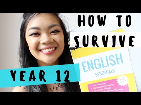 How to survive VCE - Year 12 & 11