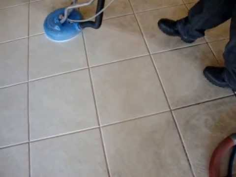 white porcelain tile and grout cleaning las vegas nv