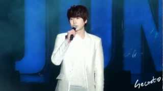 130119 SJM Fanmeeting in Nanjing - Me acapella & dance Ver. (KYUHYUN)