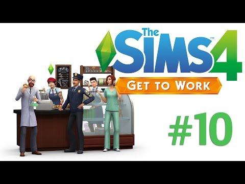 The Sims 4 Get to Work | Max la Munca | Episodul 10