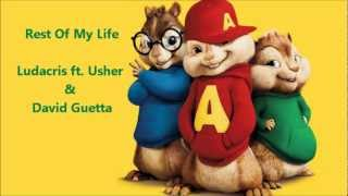 The Chipmunks - Rest Of My Life ( Ludacris ft. Usher & David Guetta)