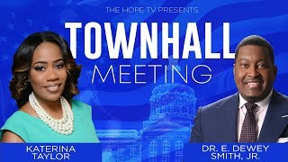 Town Hall Meeting with Dr. Smith and Katerina Taylor