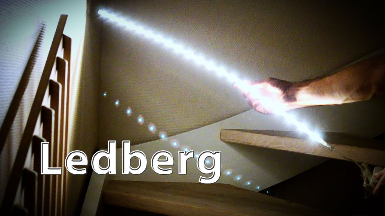Ikea Led In Shed Ledberg Strips Youtube