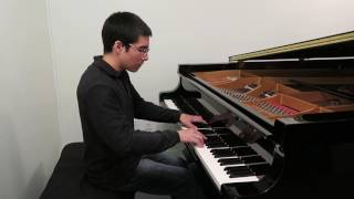 Prokofiev Visions Fugitives Op. 22 No. 1 Lentamente