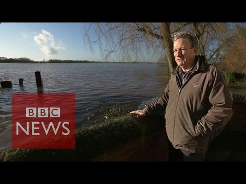 'I built my own flood defence system' - BBC News