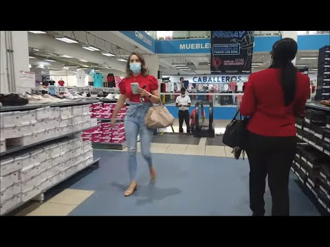 4K TOUR OF SHOPPING MALL IN DOMINICAN REPUBLIC 2020