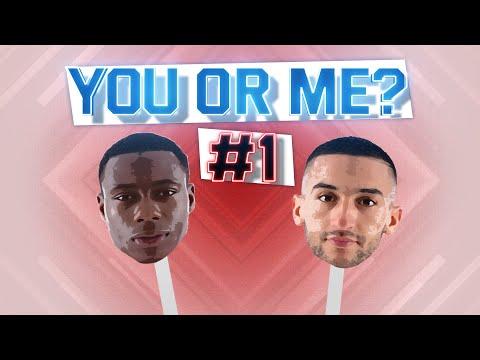 YOU OR ME? | #1 Promes & Ziyech | 'Hakim Slaapt De Hele Dag'