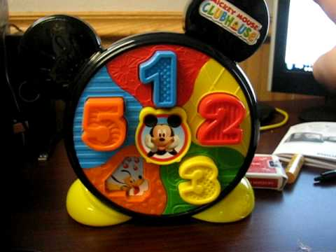 Fisher-Price Mickey Mouse Clubhouse See 'N Say - YouTube