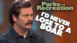 Ron Writes A Will   Parks and Recreation   Comedy Bites