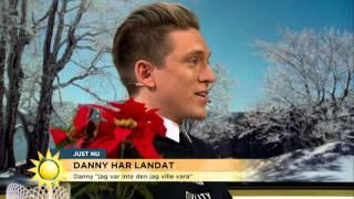 """Danny Saucedo: """"Jag var inte den jag ville vara"""" - Nyhetsmorgon (TV4)"""