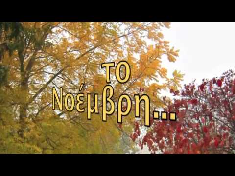 NOVEMBREGIUSY FERRERI   Lyrics with greek subs translated  ♥ FIORINA ♥