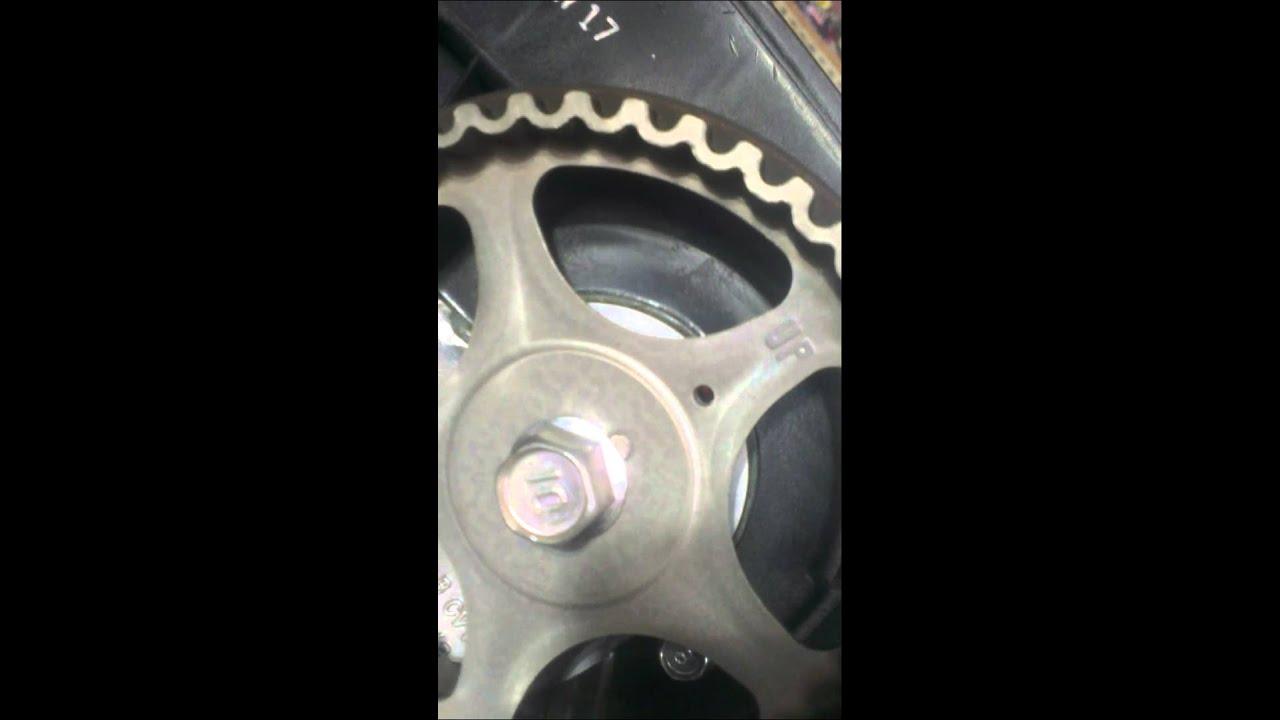 Hyundai I30 Timing Belt Marks TDC Camshaft Marks