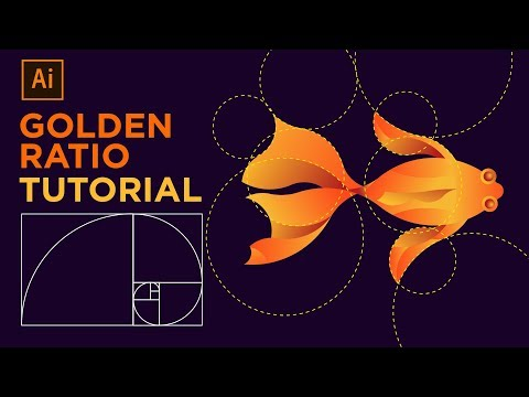 How to Design a Fish Logo with Golden Ratio - Adobe Illustrator Tutorial #1 thumbnail