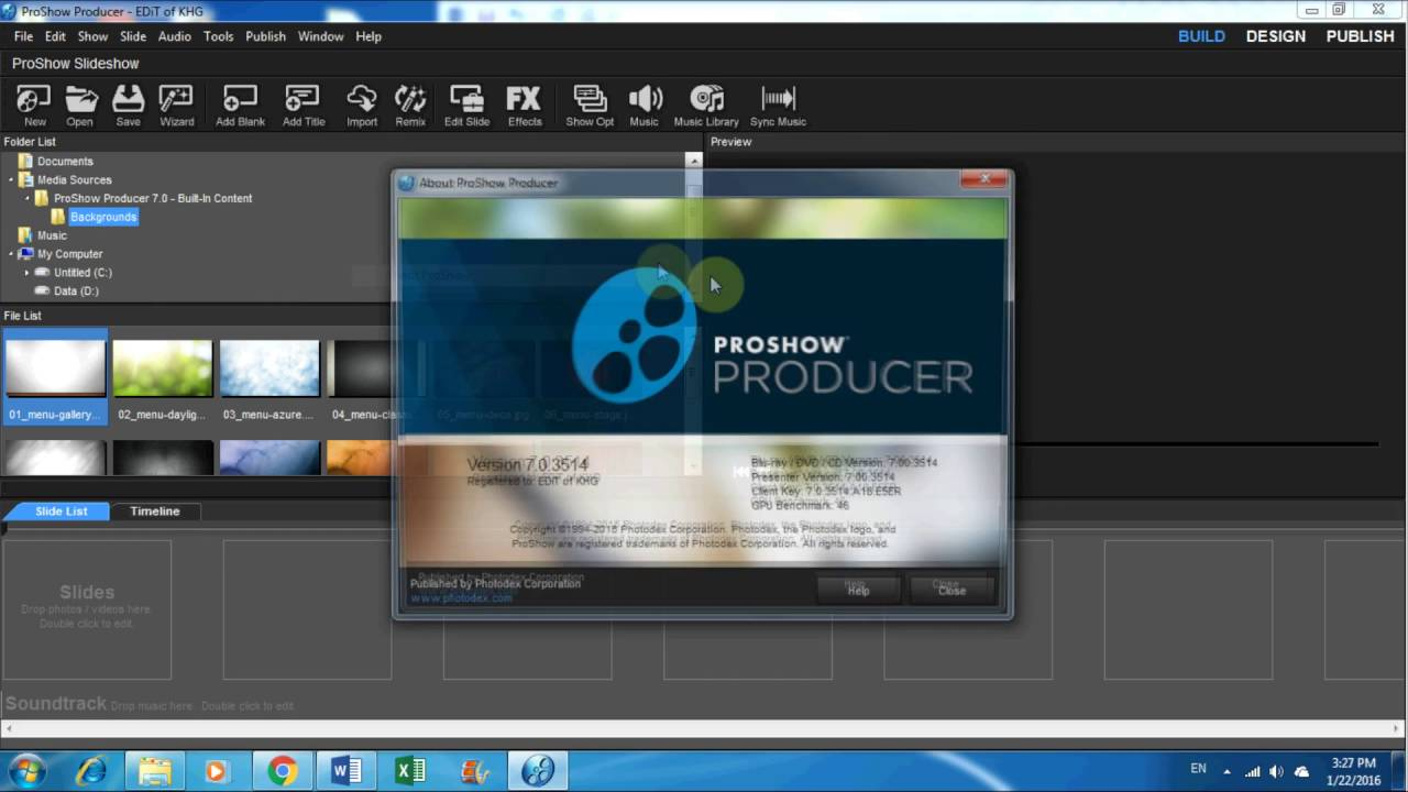 Download and Install Proshow Producer v.7 Full crack