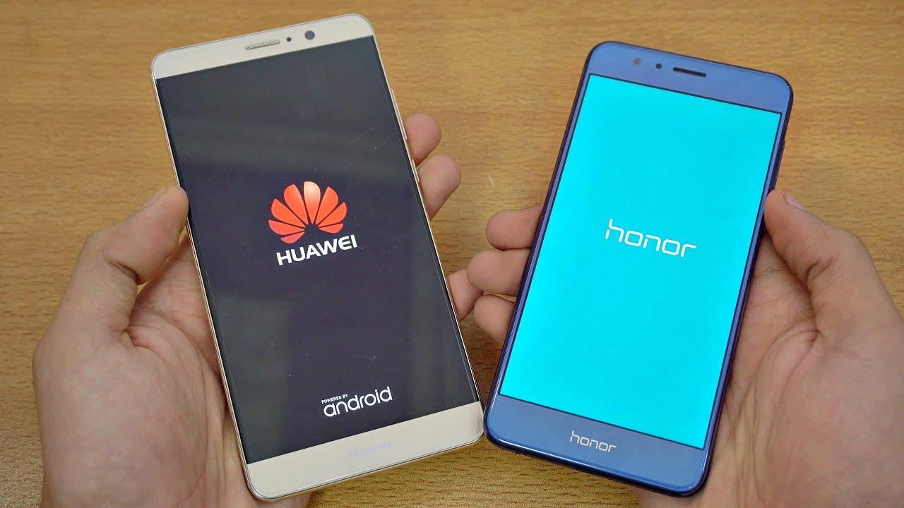 Using Honour Vs Honor: Huawei Mate 9 Vs Honor 8