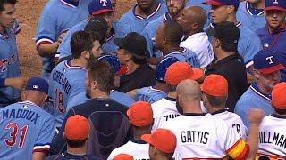 7/18/15: Hamilton, Odor power Rangers past Astros