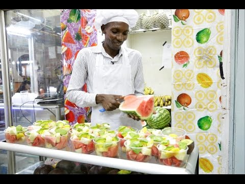 I started fruit salad business with Sh200 capital, now I employ 8 people #RespectTheHustle