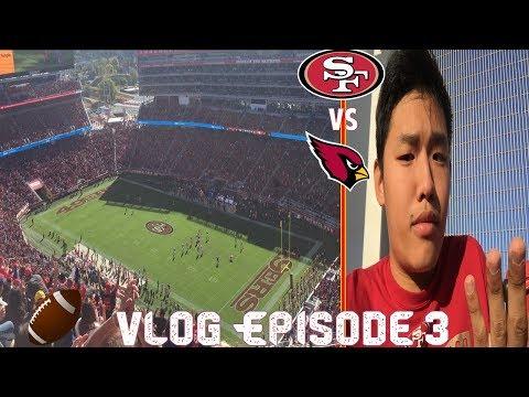 NFL Vlog EP 4- One step closer to 0-16 (SF 49ers vs Arizona Cardinals) Vlog 115