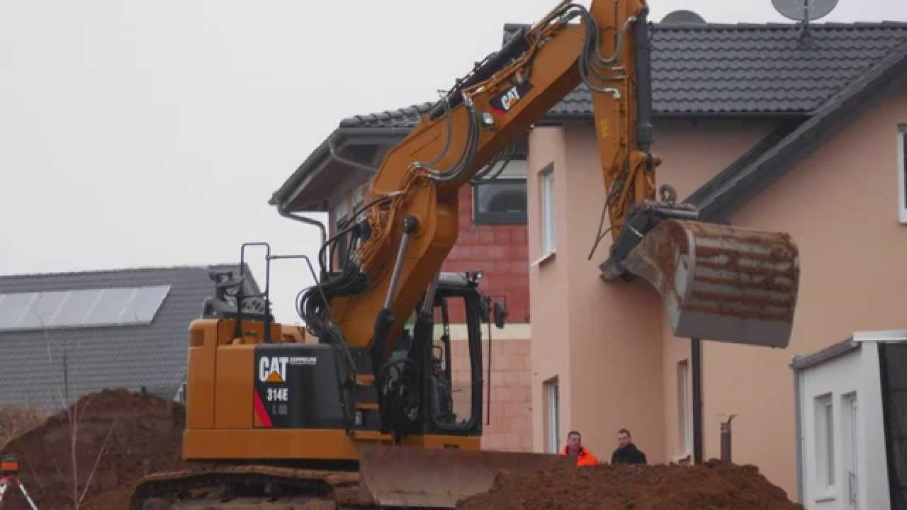 bagger excavator site baustelle noise ger usche. Black Bedroom Furniture Sets. Home Design Ideas