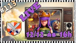 Clash of Clans HD Parte 113 - AVISO DE LIVE e Update da Base ;)