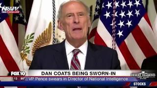 FNN: Dan Coats Sworn In As Director of National Intelligence