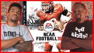 HIGH LEVEL WIGGLE STICKS!! - NCAA Football 2010 | #ThrowbackThursday ft. Juice