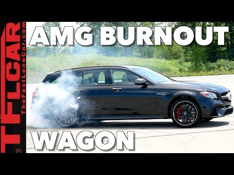 With Over 600 HP the AWD Mercedes-AMG E63 S Wagon Will Drift Your Kids to School!