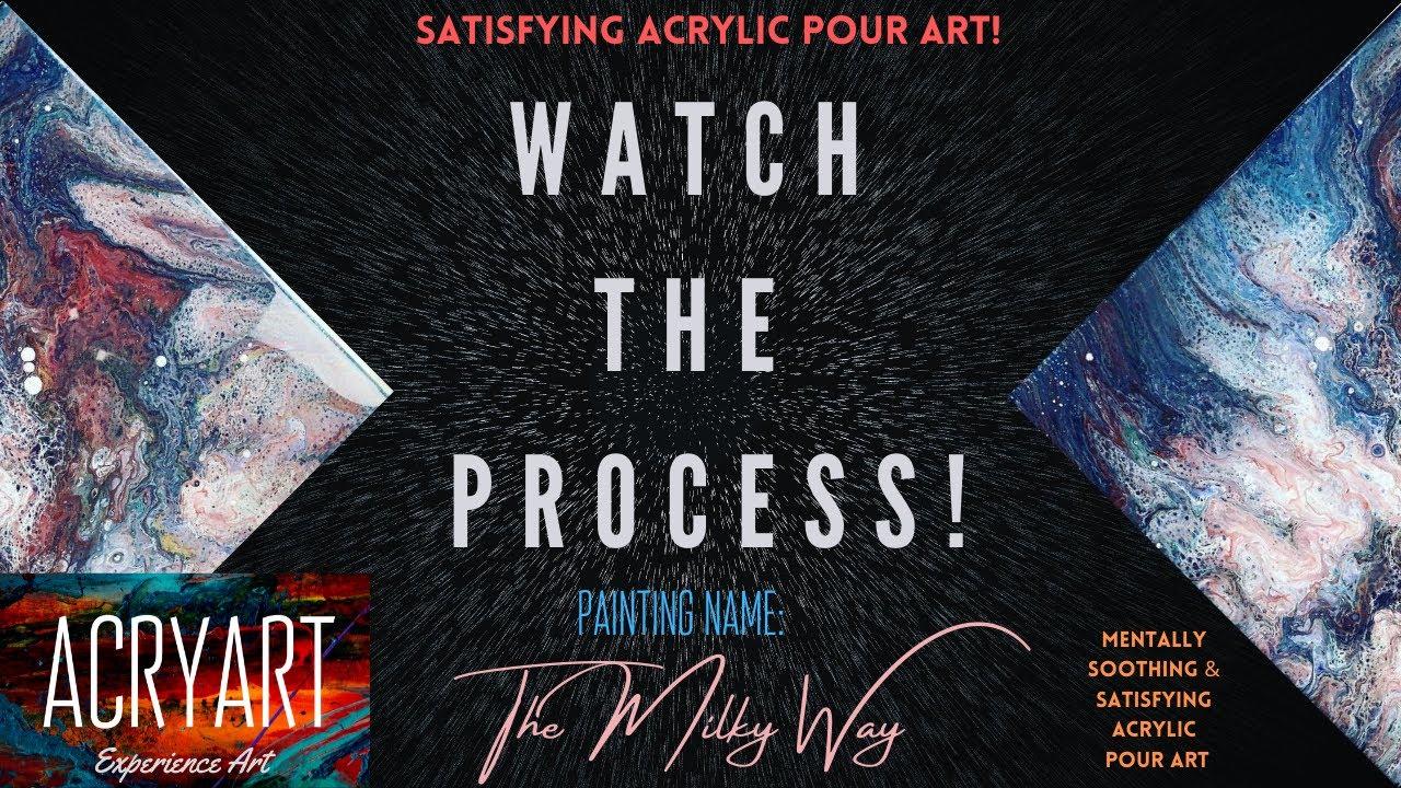 Milky Way Painting   Art by Kari Weatherbee   Oil paints