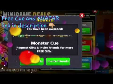 Free Monster Cue and Monster Avatar link in description