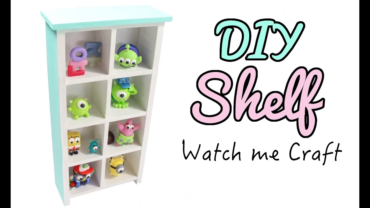 Watch Me Craft DIY Wood Bookshelf Tutorial