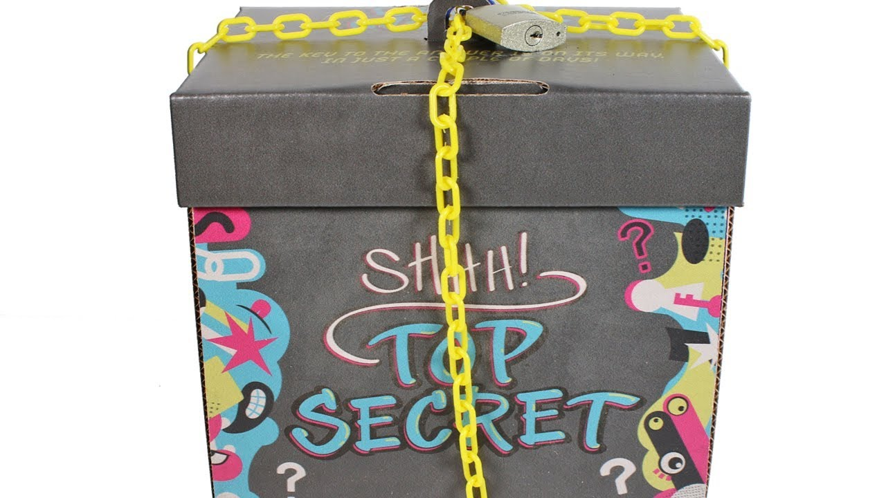 Toy Mystery Box : Lock stars series locked mystery box unboxing toy review
