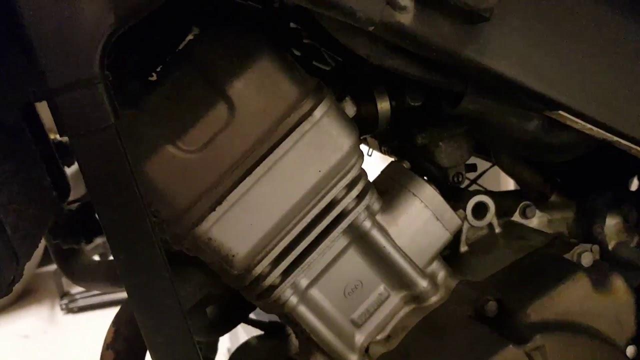 Honda CBR125R engine noise - bad cam chain tensioner